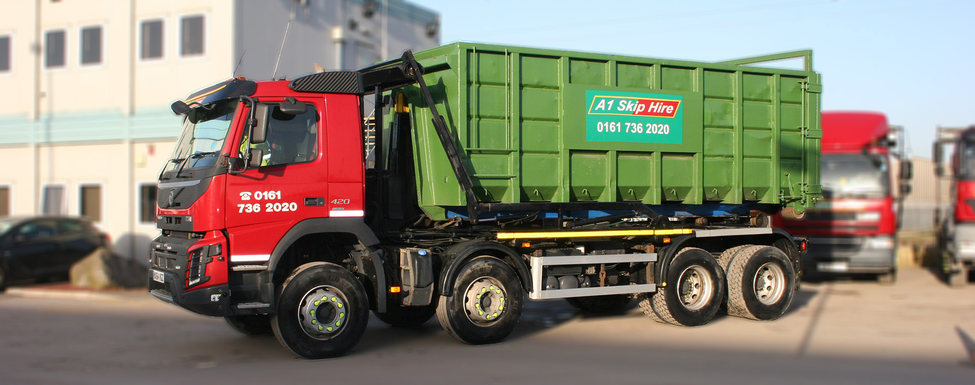 Skip Hire throughout Manchester
